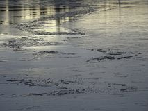 Il ghiaccio sta venendo questo inverno inoltre in Finlandia Fotografie Stock Libere da Diritti