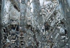 Il ghiaccio sulla luce Fotografia Stock