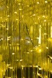 Il giallo ha condotto le luci Fotografia Stock Libera da Diritti