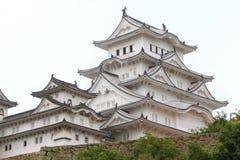 Il Giappone: Castello di Himeji Immagini Stock Libere da Diritti