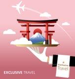 Il Giappone, destinazione Fotografia Stock