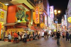 Il Giappone: Dotonbori Fotografia Stock