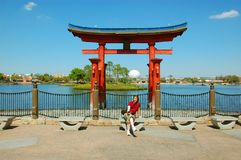 Il Giappone in Epcot Immagini Stock