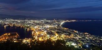 Il Giappone Hakodate Fotografia Stock Libera da Diritti