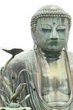 Il Giappone, Kamakura, grande statua del Buddha Immagine Stock