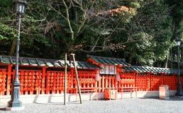 Il Giappone Kyoto Fushimi Inari-taisha Immagine Stock Libera da Diritti