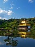 Il Giappone Kyoto Kinkakuji Immagini Stock Libere da Diritti