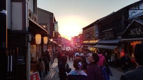 Il Giappone Kyoto scenary Fotografie Stock