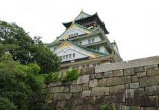 Il Giappone Osaka Castle Garden Immagine Stock Libera da Diritti