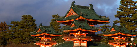 Il Giappone tradizionale Fotografie Stock