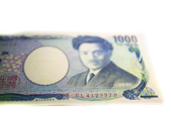 Il Giappone YEN Banknotes Immagine Stock