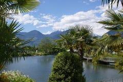 Il giardino botanico di Merano Fotografia Stock Libera da Diritti