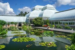 Il giardino botanico di New York fotografia stock