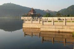Il giardino cinese antico Immagine Stock