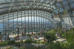 Il giardino del cielo, via di 20 Fenchurch, Londra, Regno Unito Fotografie Stock Libere da Diritti