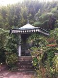 Il giardino del foglio di Maison della La immagine stock