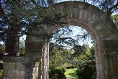 Il giardino del vescovo a Washington National Cathedral 1 Fotografia Stock Libera da Diritti