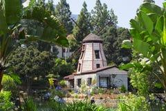 Il giardino della meditazione in Santa Monica immagine stock