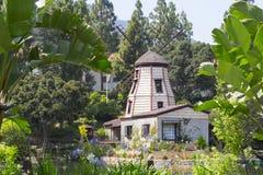 Il giardino della meditazione in Santa Monica fotografie stock