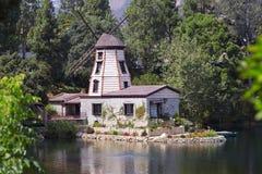 Il giardino della meditazione in Santa Monica immagine stock libera da diritti