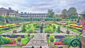 Il giardino della regina Immagini Stock