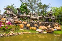 Il giardino di Dio, città antica, Samut Prakan, Tailandia Immagini Stock Libere da Diritti