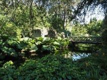 Il giardino di Ninfa in Italia Immagine Stock Libera da Diritti