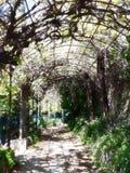 Il giardino di Quezzi, un piccolo tesoro fotografie stock