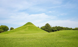 Il giardino di Suizenji è un giardino del paesaggio di stile spazioso e giapponese Fotografia Stock
