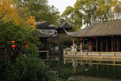 Giardini a Suzhou, Cina fotografia stock libera da diritti