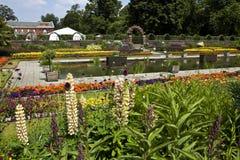 Il giardino incavato nei giardini di Kensington Fotografia Stock Libera da Diritti