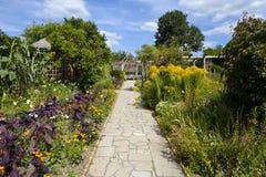 Il giardino murato nel parco di Brockwell, Brixton. Fotografie Stock