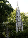 Il giardino in Quinta da Regaleira è una proprietà situata vicino al centro storico di Sintra, Portogallo Fotografia Stock
