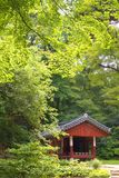 Il giardino segreto leggendario dietro Royal Palace Fotografia Stock Libera da Diritti