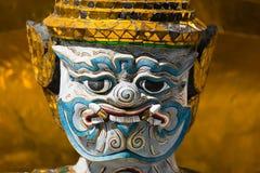 Il gigante ad Emerald Buddha Temple Immagini Stock