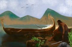 Il Gilgamesh invincibile illustrazione di stock
