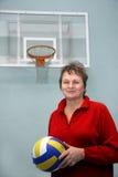 Il giocatore di pallacanestro Fotografie Stock Libere da Diritti