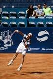 Il giocatore di Tenis ha servito un ball-6 Fotografia Stock
