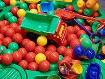 Il giocattolo di plastica dei bambini Immagini Stock