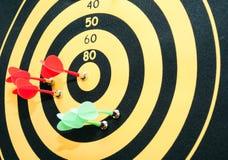 Il gioco dei dardi. Fotografia Stock Libera da Diritti