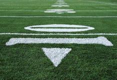 Il gioco del calcio numera dieci Fotografia Stock Libera da Diritti