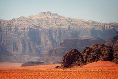 Il Giordano: Rum dei wadi Fotografie Stock