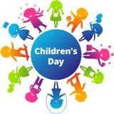 Il giorno dei bambini Fotografie Stock