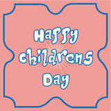 Il giorno dei bambini felici Immagini Stock
