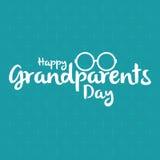 Il giorno dei nonni Fotografia Stock