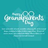 Il giorno dei nonni Immagini Stock