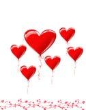 Il giorno del biglietto di S. Valentino Immagine Stock Libera da Diritti