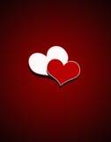 Il giorno del biglietto di S. Valentino Fotografie Stock