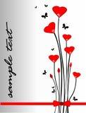 Il giorno del biglietto di S. Valentino Fotografia Stock Libera da Diritti