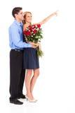Il giorno del biglietto di S. Valentino Fotografie Stock Libere da Diritti